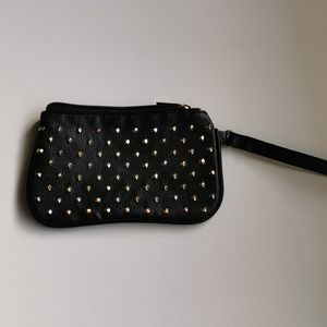 🍄 3 for $25 💘 Black Wristlet with studs